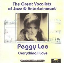 Peggy Lee - Everything I Love [2 CD Set]