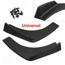Universal Front Look Rear Bumper Lip Diffuser Splitter Winglet Canard Protector