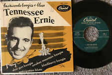 TENNESSEE ERNIE Backwoods Boogies & Blues CAPITOL EAP 1-413 Rockabilly BOP! EP