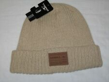 BNWT - O'NEILL Ribbed Knitted  Beanie Hat - Oatmeal