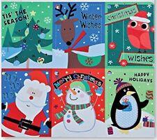 Christmas Gift Tags Embelished Foil Finish Holiday Present Name Tags 48 Big.