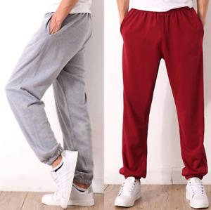 Hot Mens Summer Sweatpants Casual Loose Sport Trousers Walk Gym Pants Plus Size