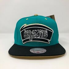 San Antonio Spurs Mitchell And Ness Snapback Hat A13