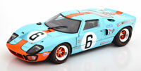 FORD GT40 MK1 NO6 GREAT EXAMPLE DIECAST MODEL GREAT DETAIL 1:18 SCALE CLASSIC