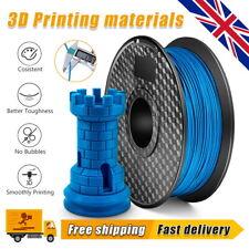 More details for 1 roll 3d printer filament pla+ 1.75mm 1kg (330meters) 3d printing material blue