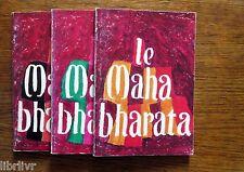 Hindouisme L'épopée du MAHA BHARATA Trois livres Adaptation de J. C. Carrière