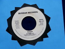 VITAMIN E~ SHARING~ RARE PROMO~ BUDDAH RECORDS~ NEAR MINT~ SWEET SOUL ~ SOUL 45