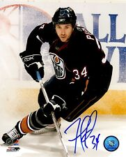 Signed  8x10 FERNANDO PISANI Edmonton Oilers Photo - COA
