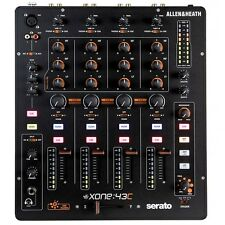 Allen & Heath XONE-43C 4+1 Channel Analog Serato DJ Mixer w/ USB SoundCard