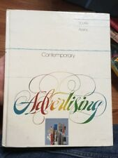 Contemporary Advertising Hardcover Bovee/Avens 1982 First Edition Fast Free Ship