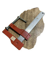 """6"""" Stanley F Clamp No 83-157/USA ,red Very Clean."""