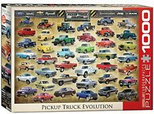 Evolution Of Pickup Trucks Jigsaw Puzzle, Play Toys Board Games Vehicles Kids