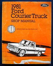 Werkstatthandbuch Shop Manual 1981 Ford Courier Truck (USA) ORIGINAL