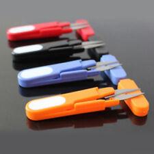1PC Random Color Fishing Small Scissor Plastic Metal Multifunction Cutter Tool