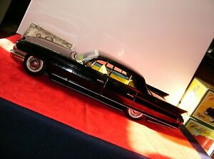 """1961 TIN CADILLAC CAR GIANT FLEETWOOD 17""""  VINTAGE SSS TOY JAPAN  100% COMPLETE"""