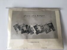 Photo and Memento Clip Hanger / Holder (8 photo clips) Brand New