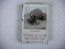 SCENES DE LA VIE DES INSECTES J. H. Fabre collection Nelson 1936