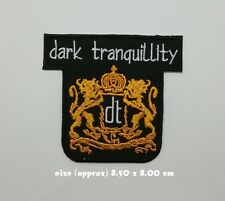 Dark Tranquillity Patch Sew Embroidered Iron On Rock Band Melodic Metal Music