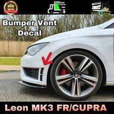 Eaziwrap Leon MK3 Cupra FR Pre Facelift Bumper Vent Insert Vinyl Sticker Decal