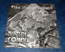 THE STUFF OF LEGEND #1 THIRD EYE sketch variant signed x4 original sketch th3rd