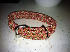 Dog Collars Custom Handmade Paracord Under 20""