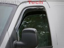 WeatherTech Side Window Deflectors for Chevy Express - 1996-2015 - Dark Tint