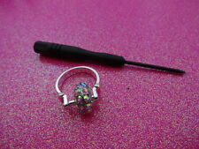 Changeable Charm Dangle Ring Size 7