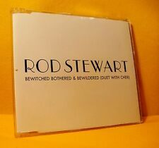 MAXI Single CD Rod Stewart Cher Bewitched Bothered & Bewildered 1 TR 2003 PROMO