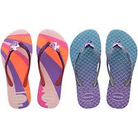Havaianas Kids Slim Glitter Mermaid Unicorn Rubber Junior II Flip Flops Sandals
