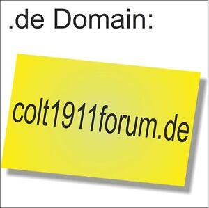 Business-Domain:colt1911forum.de