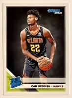 2019-20 Donruss CAM REDDISH Base Rookie, #229, RC, Atlanta Hawks, Duke