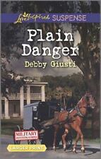 Military Investigations: Plain Danger by Debby Giusti (2016, Paperback, Large...