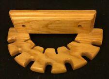 Crop/Whip Holder, Half-Round, Solid Wood, Nwt