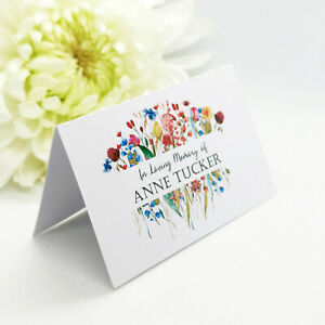 Seed Paper Heart Cards for Weddings, Funerals and special events | Custom Favour