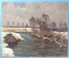 Impressionismus Ölgemälde Windach Valloch Hans Schilcher Diessen Ammersee ~1910