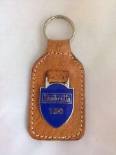 Vintage Leather Key Ring, Key Fob, Lambretta 150