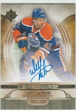 2013-14 Ultimate Collection Rookies Will Acton 205/399 RC Auto
