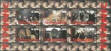 UDMERTIA 1998 FILMS SHIPS TITANIC KATE WINSLET LEONARDO DICAPRIO SHEET MNH