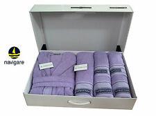 Set Bathroom 6 Pieces navigare, Victor. Bathrobe + Towel + Sheet Bathroom