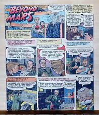 Beyond Mars by Jack Williamson - scarce full tab Sunday comic page Nov. 22, 1953