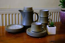 VINTAGE COFFEE SET (1960's, PURBECK POTTERY)