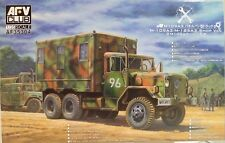 AFV Club 1/35 scale model AF 35304, M-109A3/M-185A3 Shop van.