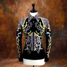X-SMALL  Showmanship Pleasure Horsemanship Show Jacket Shirt Rodeo Queen Rail