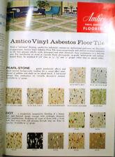 AMTICO American Biltrite Rubber Company VINYL ASBESTOS Asphalt Tile Catalog 1964