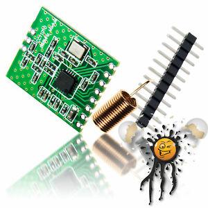 ESP8266 RF Funk 868 MHz CC1101 SPI 3,3V ISM FHEM CUL Modul Arduino Raspberry Pi
