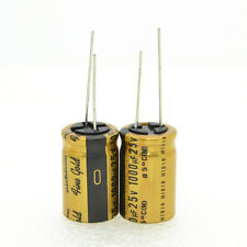 2pcs Nichicon FG 1000Uf 25V 16*25mm 7.5mm Electrolytic capacitors-4137