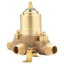 PROFLO PF3001P 1/2 IN. CERAMIC TUB AND SHOWER VALVE MIP AND SWEAT WITH STOPS