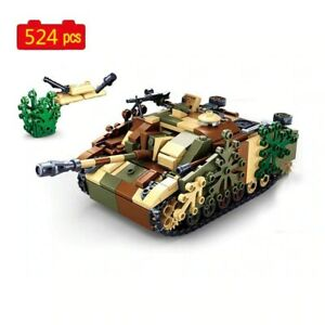 524 PCS Building Blocks Military series Germany WW2 army III soldier SWAT DIY