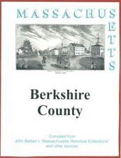 History of Berkshire County Massachusetts reprint John Barber 1839  Lenox MA