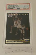 1992 Upper Deck Shaquille O'Neal #1b PSA 8 NM-MT Rookie